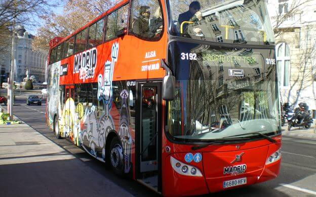 bus turistico madrid city tour hop on hop off