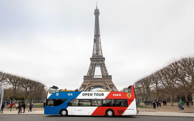 bus turistico paris city tour hop on hop off
